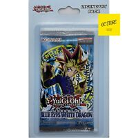 Yugioh Legend of Blue Eyes White Dragon LOB Blister Booster Pack Brand New (1)