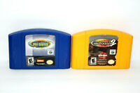 Tony Hawk's Pro Skater 1 + 2 (Nintendo 64 N64 LOT) Authentic - Cleaned & Tested!