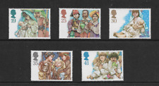 1994 GB.- Christmas Issue - Full Set of Five - Mint Never Hinged.