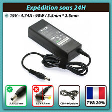 19V 4.74A 90W Chargeur Asus ADP-90SB AB EXA0904YH PA-1900-36 LITEON PA-1900-04