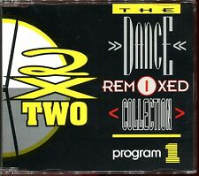 2 X TWO - THE DANCE REMIXED COLLECTION - REMIXES - PROGRAM 1 - CD MAXI [281]