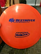 INNOVA RARE GSTAR GS/DS DESTROYER DISC GOLF DRIVER ORANGE/BLUE 171G @ LSDiscs