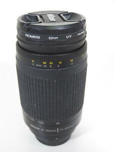 Nikon AF Nikkor 70-300mm Lens 1:4-5.6G / Only $0.01!!! 👀🔥