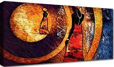 Quadro Moderno Cm 100x50 Stampa Tela Arredamento Arte Arredo Casa Etnico Africa