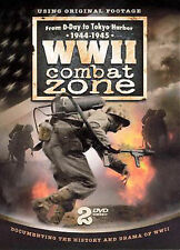 WW II COMBAT ZONE 44-45 (DVD, 2008)