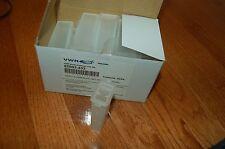 VWR slide slides microscope mailer shipper plastic end-opening 5-slidemailer