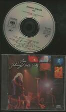 Live - Johnny Winter   | Columbia USA CD
