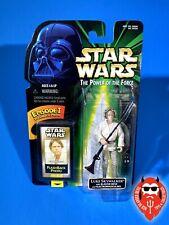 Star Wars Luke Skywalker w/ Blaster Rifle, Flashback Photo floppy hat POTF