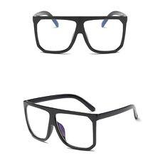 Women Cat Eye Square Sunglasses Designer Retro Big Frame Eyeglass Shades