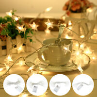 40 LED Fairy Star Lamps Battery Christmas String Lights Indoor Party Wedding AU