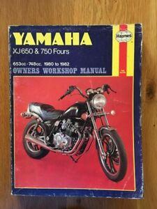 Yamaha XJ650 XJ750   Workshop manual Haynes 1980-1982   See below