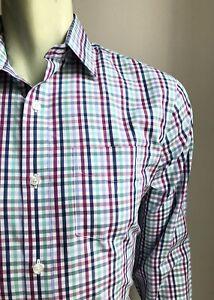 Bonobos Shirt, Bond Plaid, M (15-1/2, 35), Standard Fit, New-w/o-Tags!