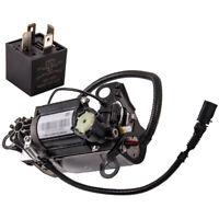 Air Pump for Audi A8/S8 Quattro 4E0616005E 4E0616007E Air Suspension Compressor