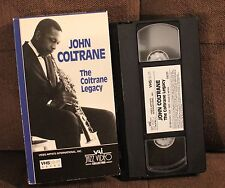 JOHN COLTRANE- The Coltrane Legacy VHS SAX JAZZ JIMMY COBB ELVIN JONES