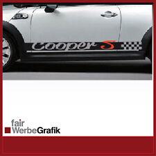 Aufkleber /  Sticker / Seitenbeschriftung / Dekor / Mini Cooper / #051