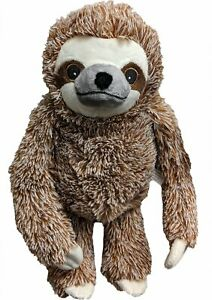 Ethical Pet Fun Sloth Squeaky Plush Dog Toy, Color Varies    Free Shipping