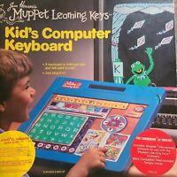 Jim Hensons Muppet Learning Keys Kids Computer Keyboard 1984 Atari Commodore 64