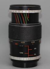 Miranda 55mm f3.5 Macron macro lens with 1:1 magnification ratio - Rare - Ex!
