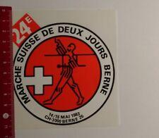 Aufkleber/Sticker: Marche Suisse de deux jours Berne (12031744)
