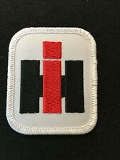 "International Harvester Ih Logo Sewn On/Iron On Patch - 2"" x 2 1/2"" - New"