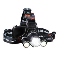LED Faro Anteriore Proiettore Torcia Da Testa Torcia Proiettore 18650 batteria