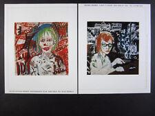 2005 A.R. Penck portrait jutta paintings Michael Werner Gallery vintage print Ad