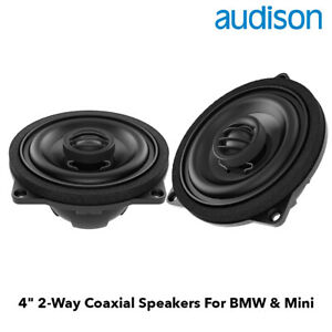 "Audison APBMW X4E - 4"" Coaxial Speakers for BMW & MINI"