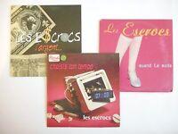 || LOT CD Single Collector - Port 0€ || LES ESCROCS  : 3 CD PROMOS
