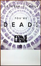 FLYING LOTUS You're Dead Ltd Ed RARE Poster +FREE Electronic/Hip-Hop/Pop Poster!