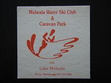 MULWALA WATER SKI CLUB & CARAVAN PARK ON LAKE MULWALA 057 441888 RED  COASTER