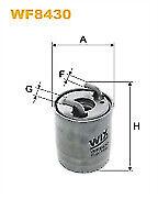 Wix WF8430 Fuel Filter for Mercedes Benz Sprinter 06- A6420902252 A6420920401