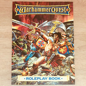 Classic Warhammer Quest Roleplay Book Games Workshop 1995