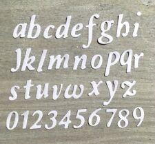 Stanzschablone/ Cutting dies abc Script 1,5 cm geeignet für Big Shot