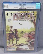 THE WALKING DEAD #2 (First Print) CGC 9.0 VF/NM Robert Kirkman Image Comics 2003