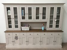 9ft New Solid Pine Painted Welsh Dresser - Dinning / Kitchen Unit