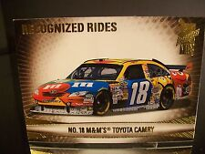 Rare Kyle Busch #18 M&M's Press Pass VIP 2009 Card #39