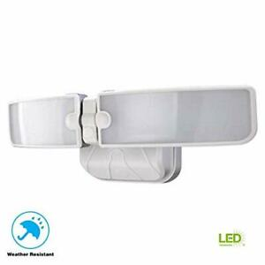 Defiant LED Security Light 180 Watt Equivalent Switch Controlled - White Finish