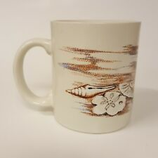 Souvenir Sea Shells on the Beach Gift Coffee Mug B75