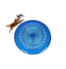 "Dog Frisbee Flying Disc Dogs Toy Doggy Fetch Toys Fun Excercise 7.5"" Soft Frisby"