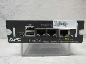 APC Smart Slot AP9631 UPS Network Management Card 2
