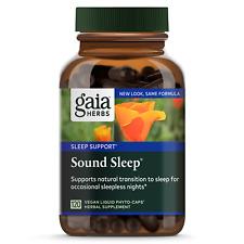 Sound Sleep Gaia Herbs 120 VCaps