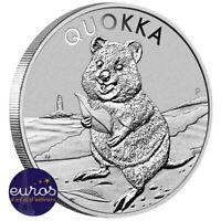 AUSTRALIE 2020 - Le Quokka - 1oz Argent pur 999,99‰ - Bullion