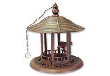 Vogelfutterhaus Idyllisches Futterhaus im Rostlook zum Hängen Kunststoff 63608