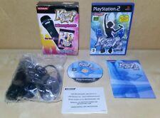 Karaoke Stage 2 + New Logitech Konami  Microphone Boxed - PlayStation 2 PS2