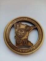 CHALLENGE COIN MILITARY ARMY USA MINNESOTA NATIONAL GUARD THE ADJUTANT GENERAL