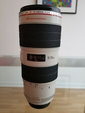 Canon EF 70-200mm f2.8L IS II USM Lens - Mint Condition - No Reserve