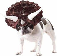 Triceradog Dinosaur Triceratops Dog Costume XS, S, M, L