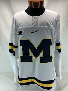 Nike Michigan Wolverines Authentic Nike Hockey Jersey Mens New With Tags $125