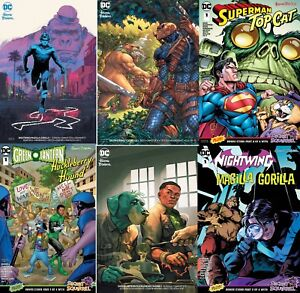 Assorted DC Hanna Barbera Crossover Special Superman Top Cat Deathstroke & MORE