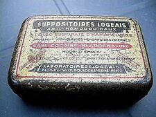 RARE Ancienne Boite ECHANTILLON médicaments Collector French box metal vintage